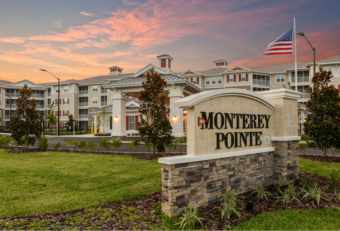 Monterey Pointe Entry Area