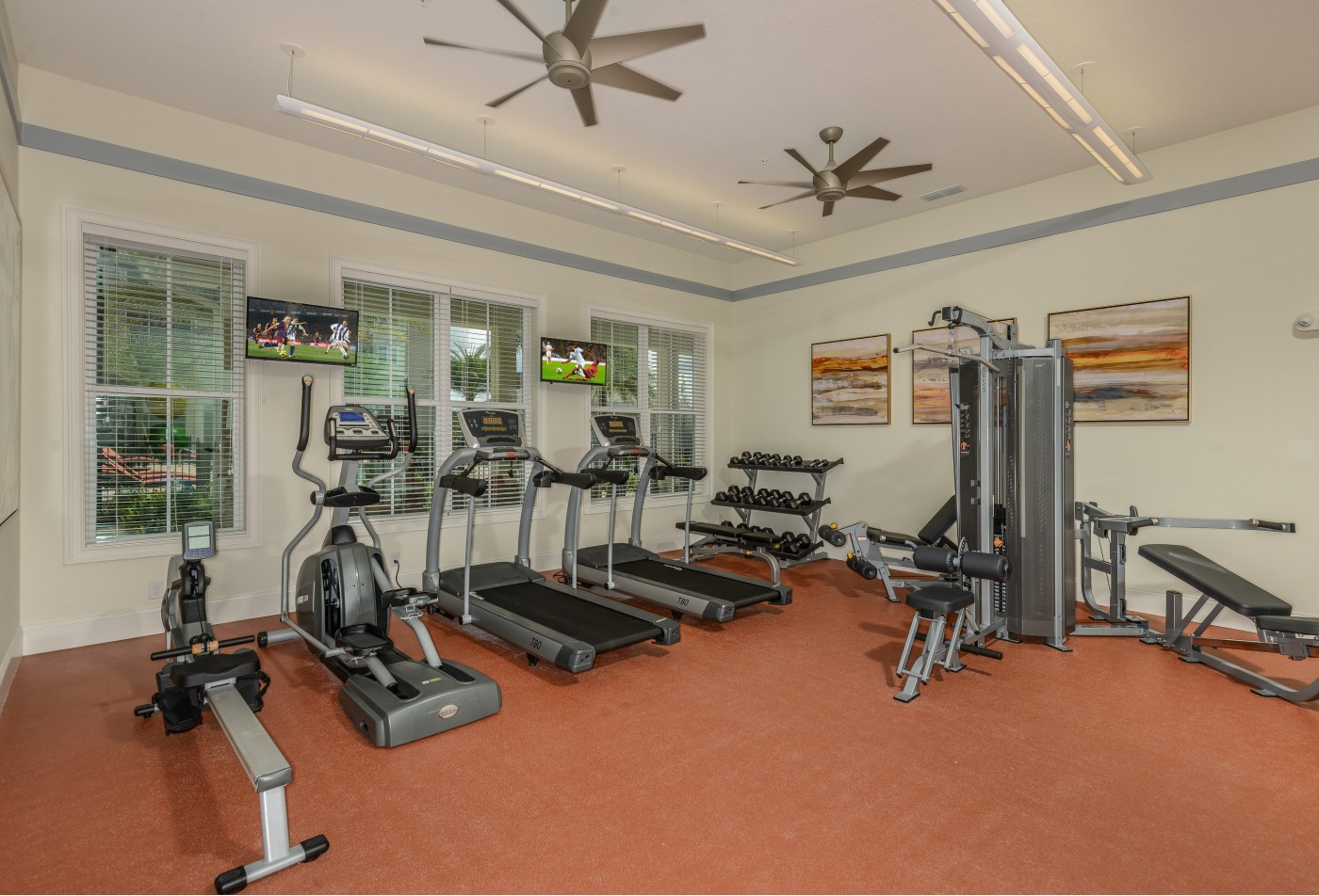 Fitness Center l Monterey Pointe