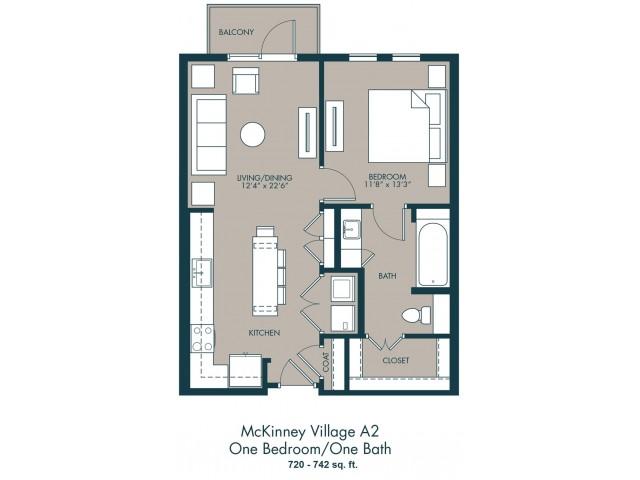 Apartments In McKinney Texas | Floor Plan