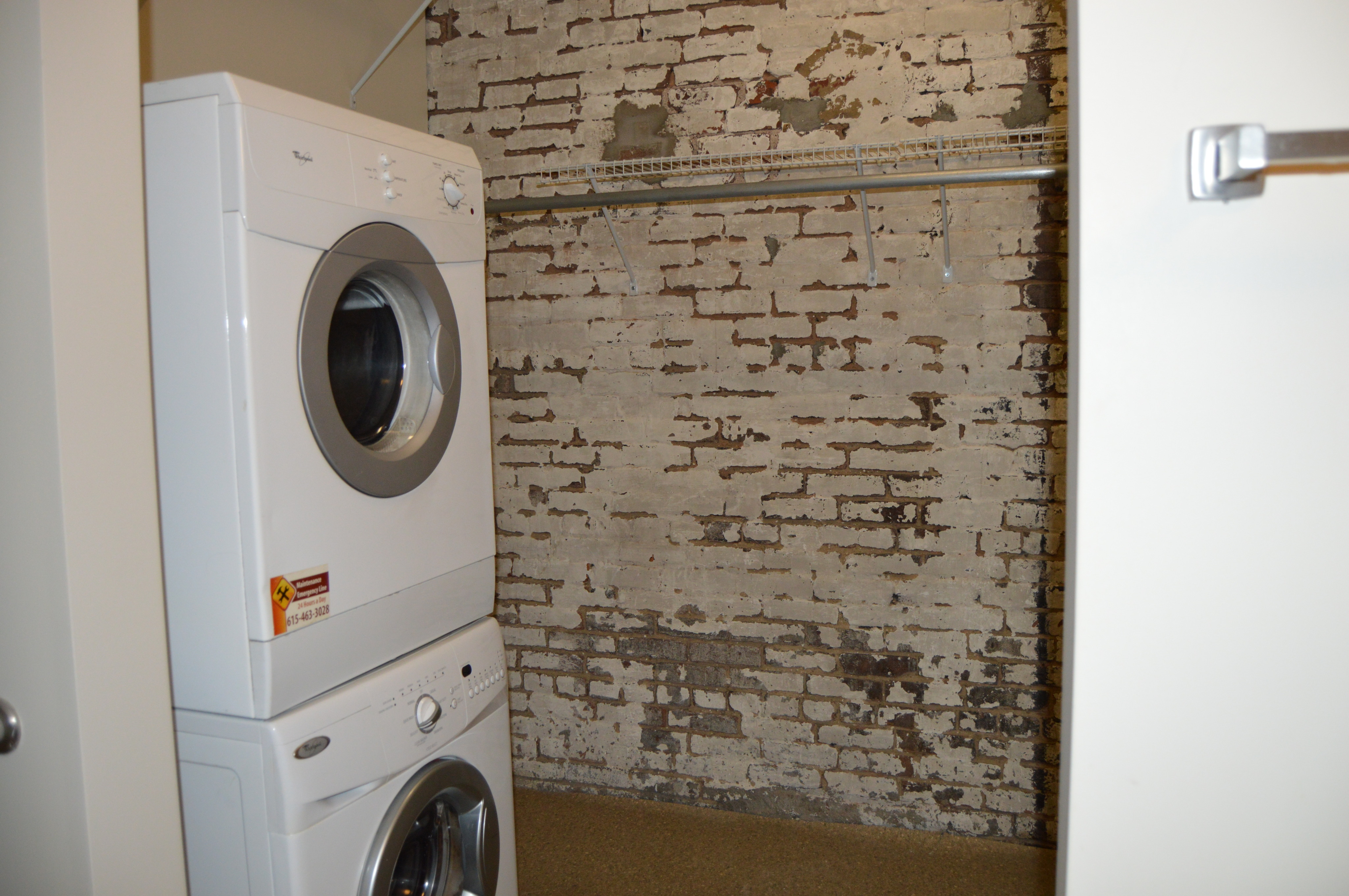 Image of In-Home Washer and Dryer for Lofts at 160