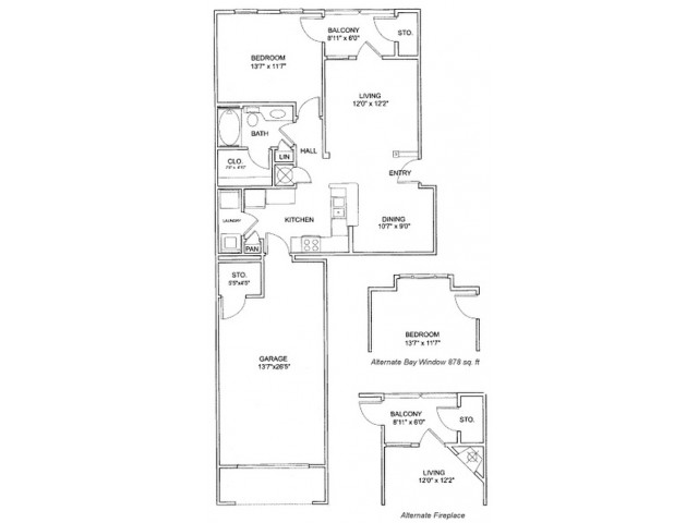 One Bedroom | Apartments in Northlake | Apartments in Northlake GA | Providence of Northlake