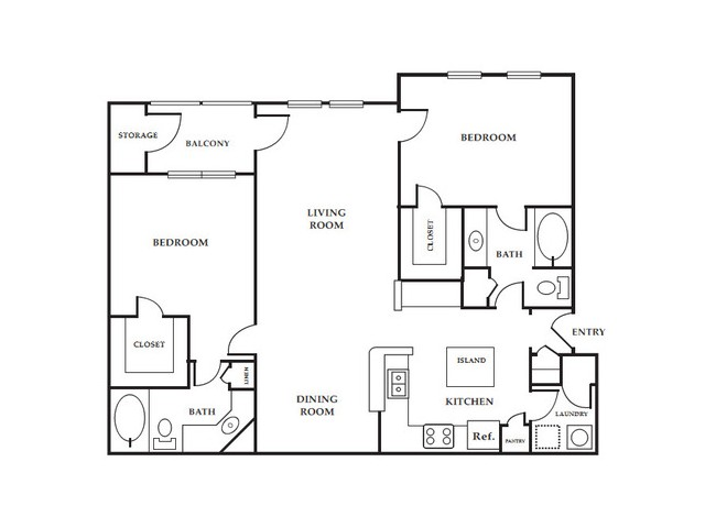 Two Bedroom Apartments in Northlake | Apartments in Northlake | Apartments in Northlake GA | Providence of Northlake