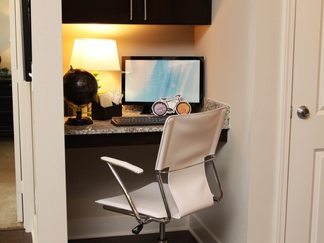 Image of Built-in desk* for Park Central at Flower Mound