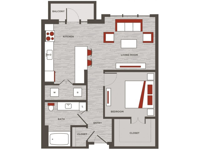 Live Work Unit / One bedroom, One bathroom