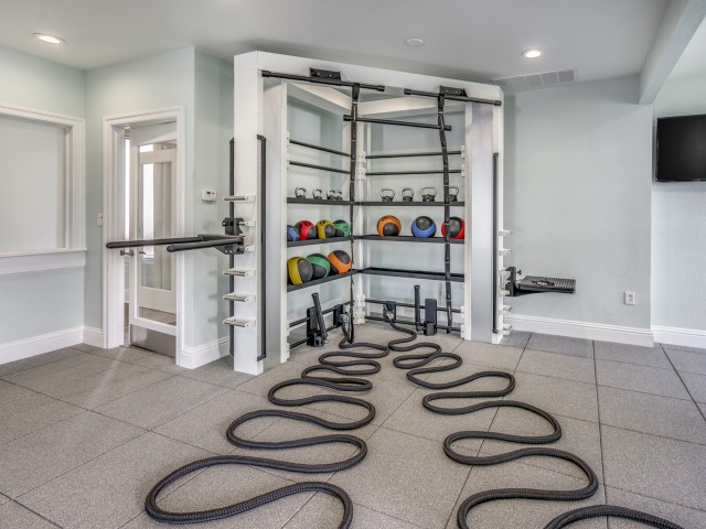 Image of Fitness Center for Sanctuary at Highland Oaks