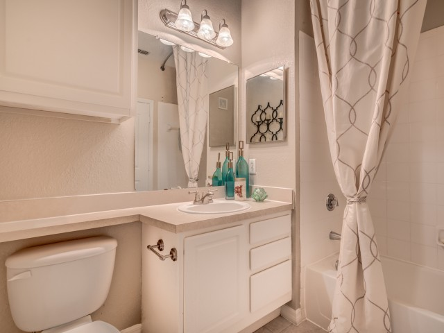 Image of Bathroom Storage for Sanctuary at Highland Oaks