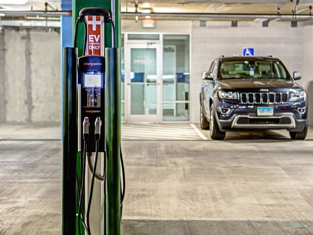 Image of Electric Car Charging Station for Infinity Harbor Point