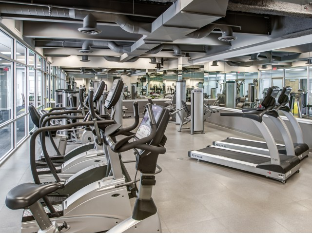 Image of Fitness Center for The Encore on 7th Apartments
