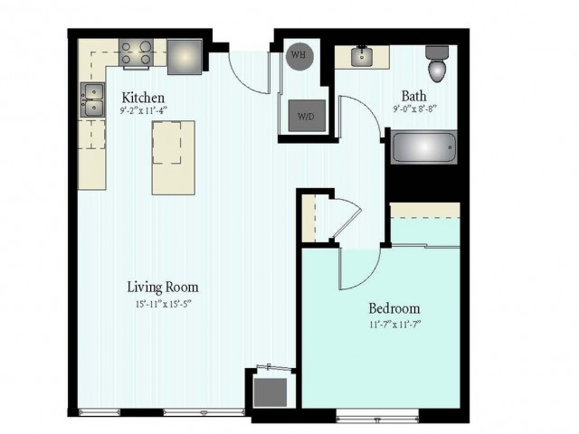 Floor Plan 19 | Apartments In Glenview IL | Midtown Square