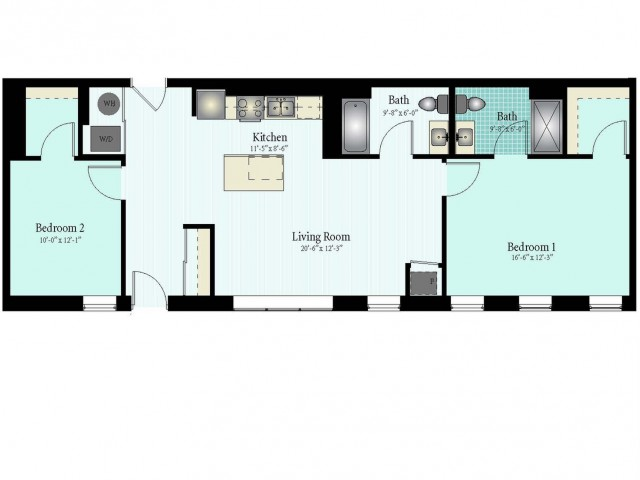 Spacious Floor Plans | Apartments In Glenview IL | Midtown Square