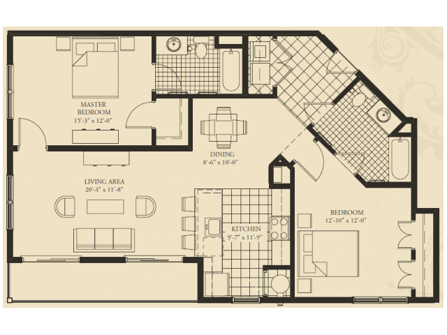 7 X 9 Bathroom Floor Plans