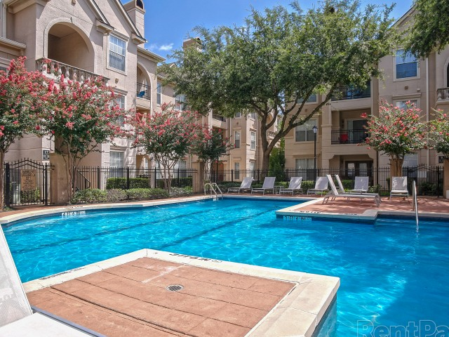 Back Pool | Apartments For Rent In Dallas Tx | St. Moritz Apartments