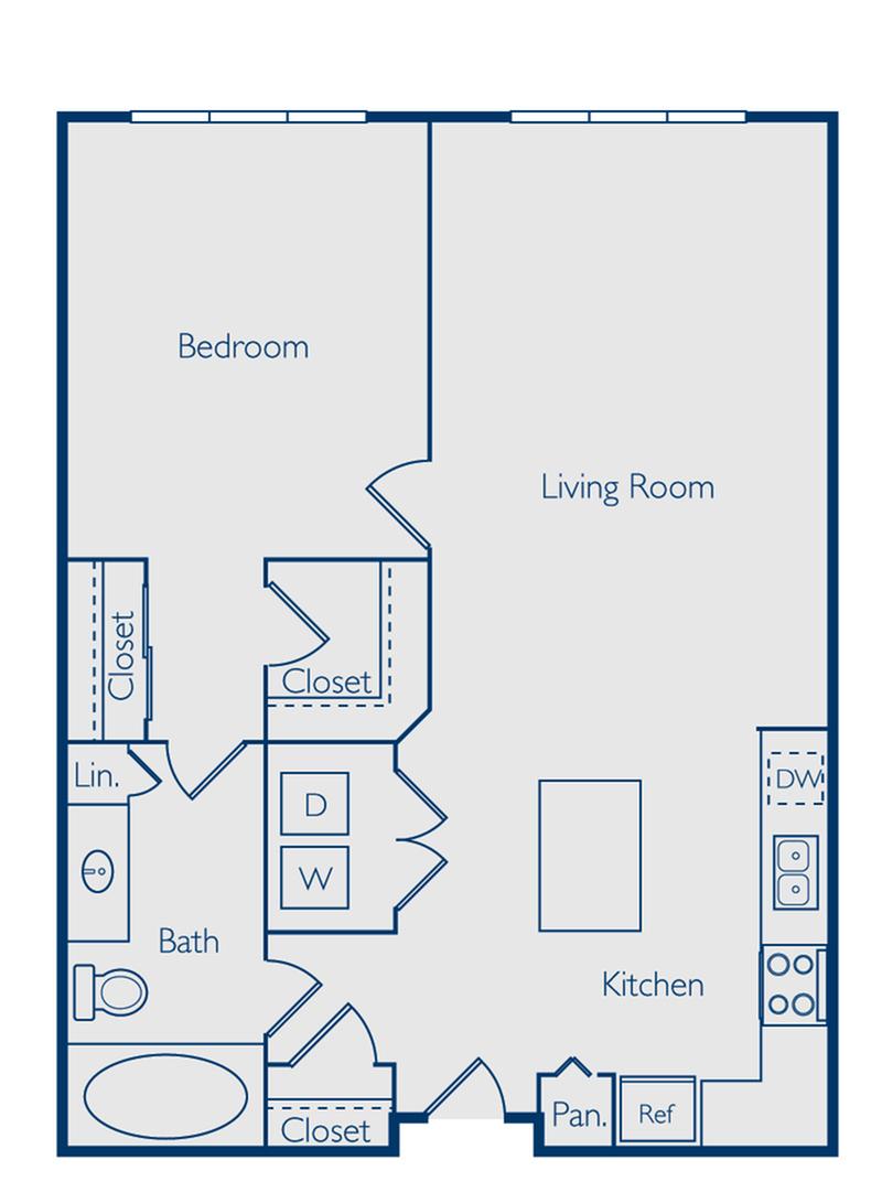 One Bedroom One Bath Orlando FL