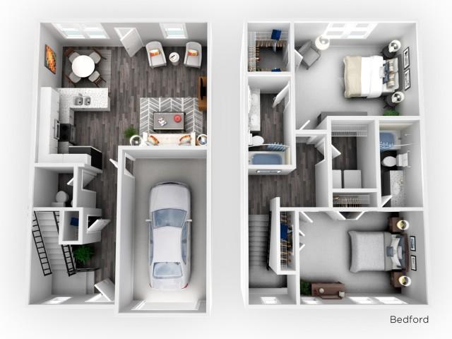 Bedford - 2 Bedroom | 2.5 Bathroom