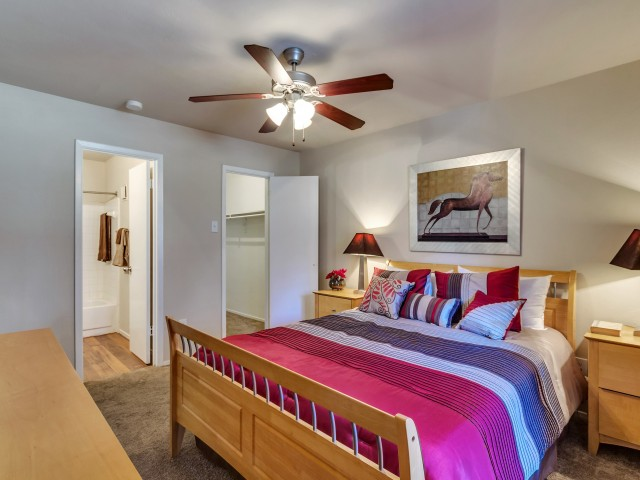 Image of Ceiling fans for Bridge Hollow Apartments
