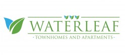 Waterleaf Town home and Apartments logo