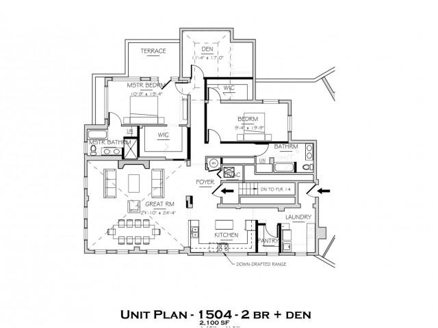 1504 SF Penthouse