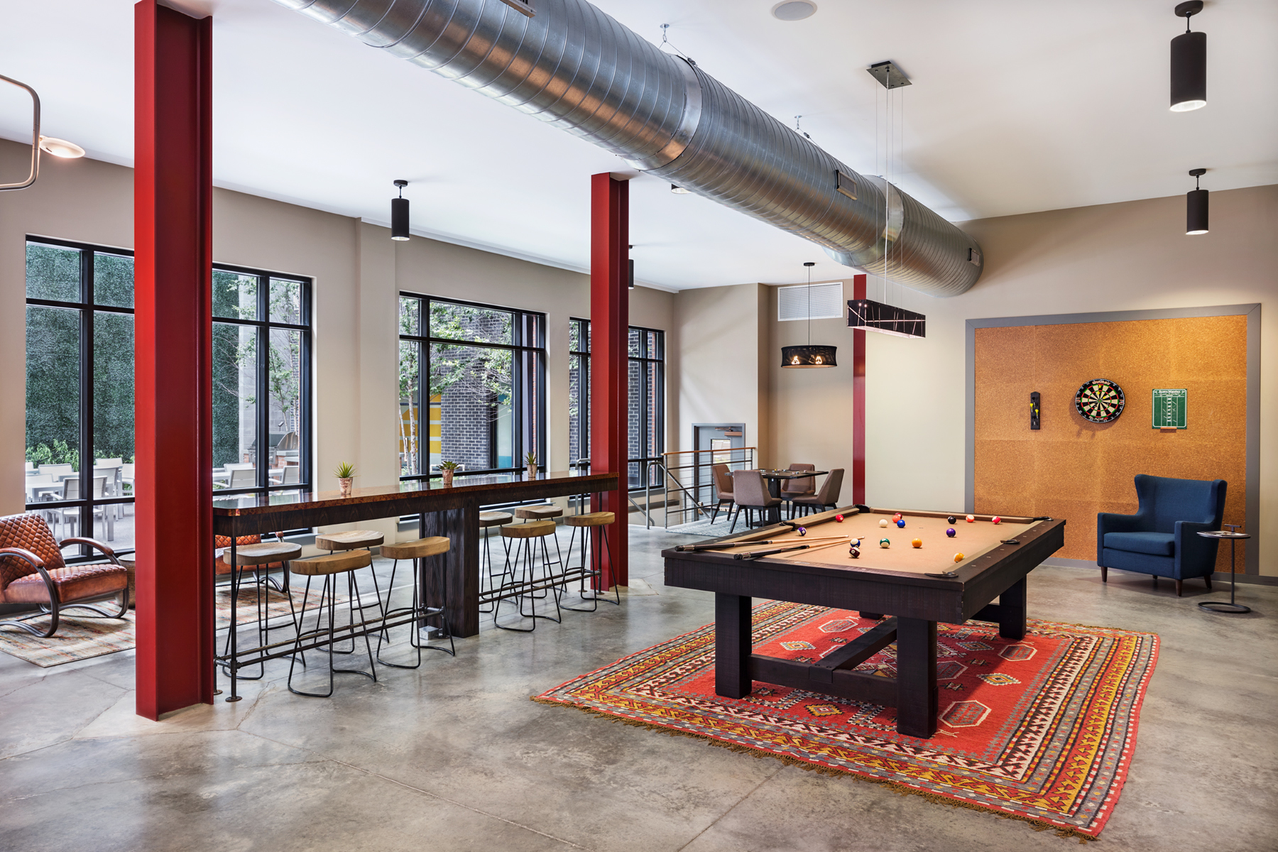 Resident Billiards Table | Apartment Homes In Nashville | Eastside Heights