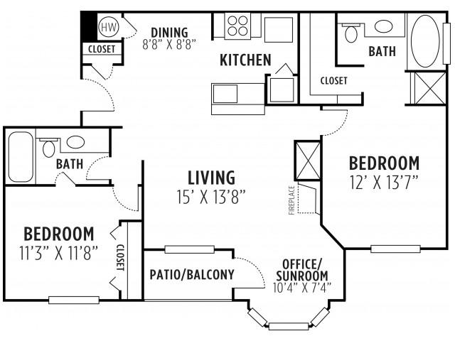 Two Bedroom Two Bath Lithia Springs GA