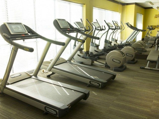 Image of Fully Equipped Fitness Room for The Fields Woodlake Square