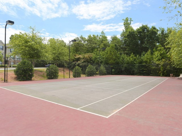 Image of Tennis court for The Fields McEver