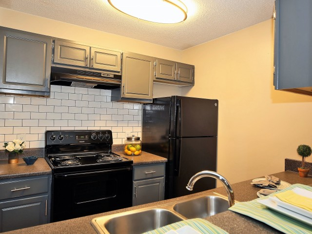 Image of Black Appliance Package for The Fields Lakeview