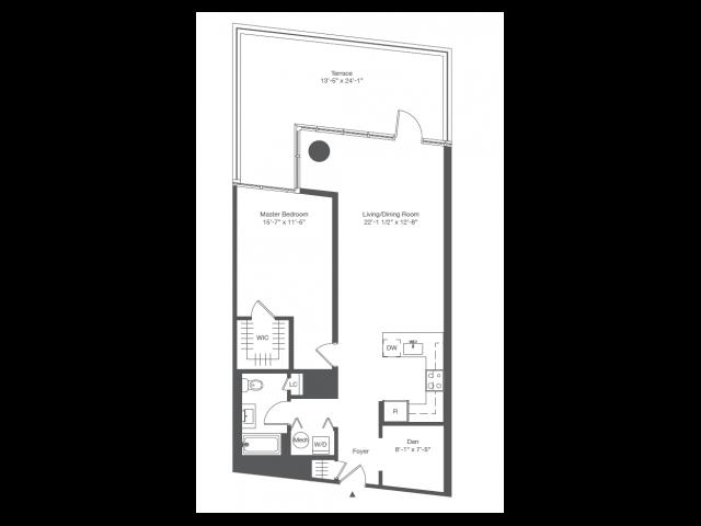 1 Bed 1 Bath Apartment In Fort Lee Nj Hudson Lights