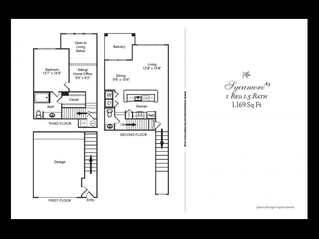 1 Bedroom w/Loft