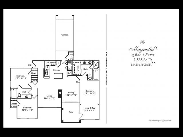 3 Bedroom/2nd floor