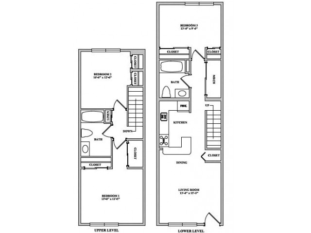 Easton - 3 Bedroom, 2 Bathroom
