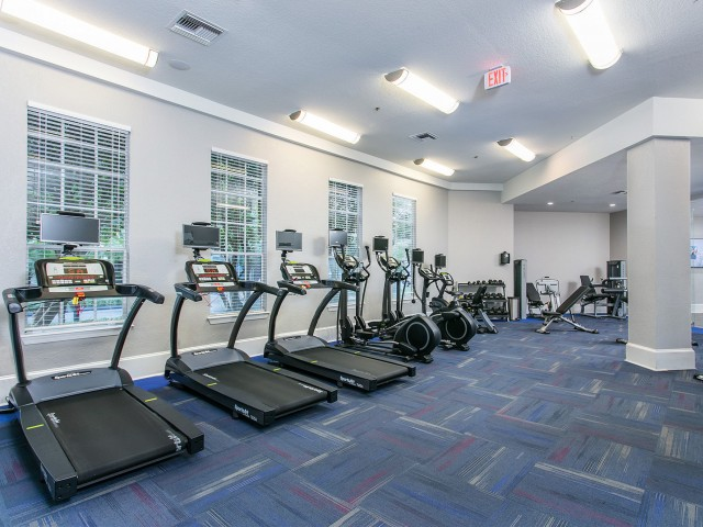Alvista Metrowest Orlando Florida fitness center with cardio equipment and strength machines