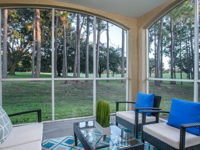 Image of Private Screened Patio or Balcony in Select Homes for Alvista Metrowest