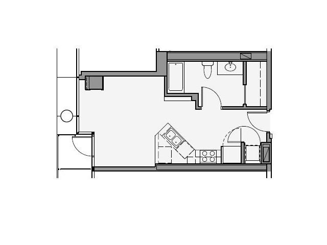 Studio Floor Plan sta