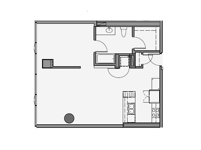 04 Tier 1 Bed 881 Sq Ft