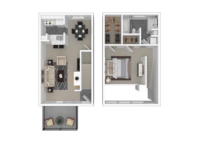 1 Bedroom 1 Bathroom