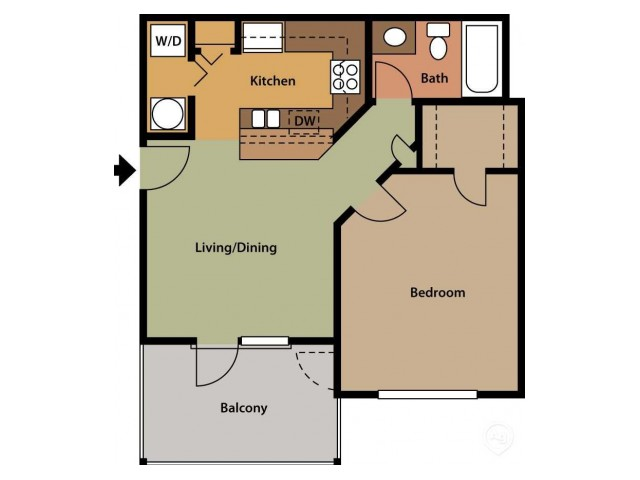 One Bedroom - One Bath Upgrade