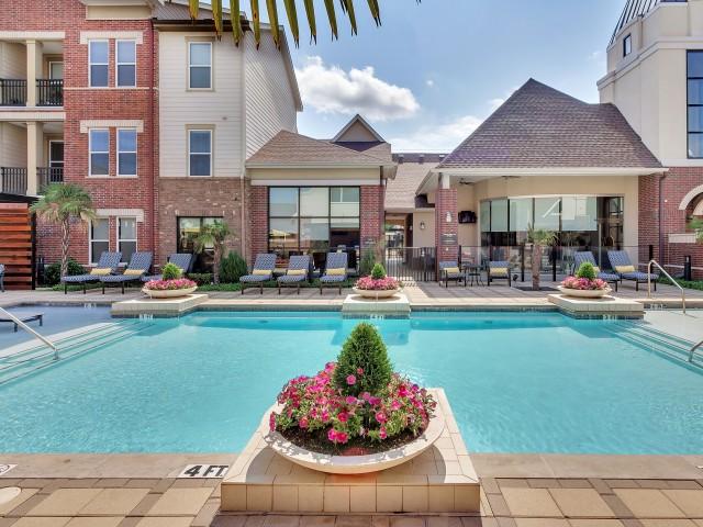 Parkside at Flower Mound Apartments Salt Water Pool