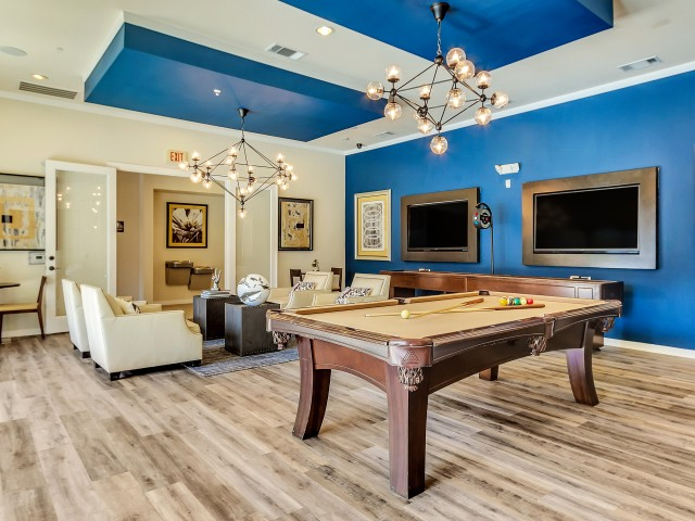 Image of Billiards Lounge for Park Central at Flower Mound