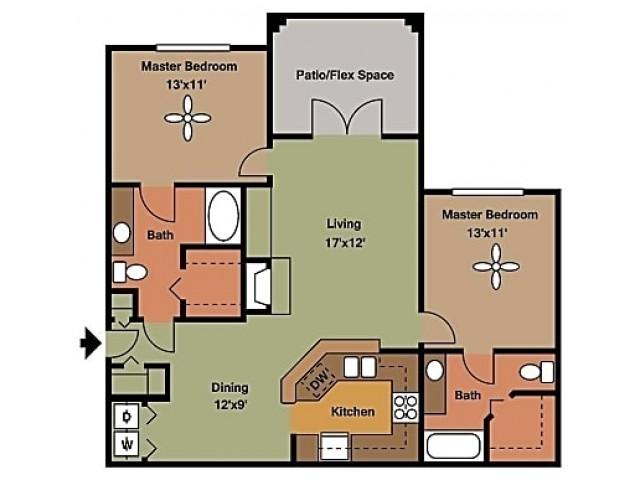 Remington at Lone Tree B3 Floorplan