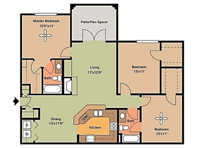 Remington at Lone Tree C1 Floorplan