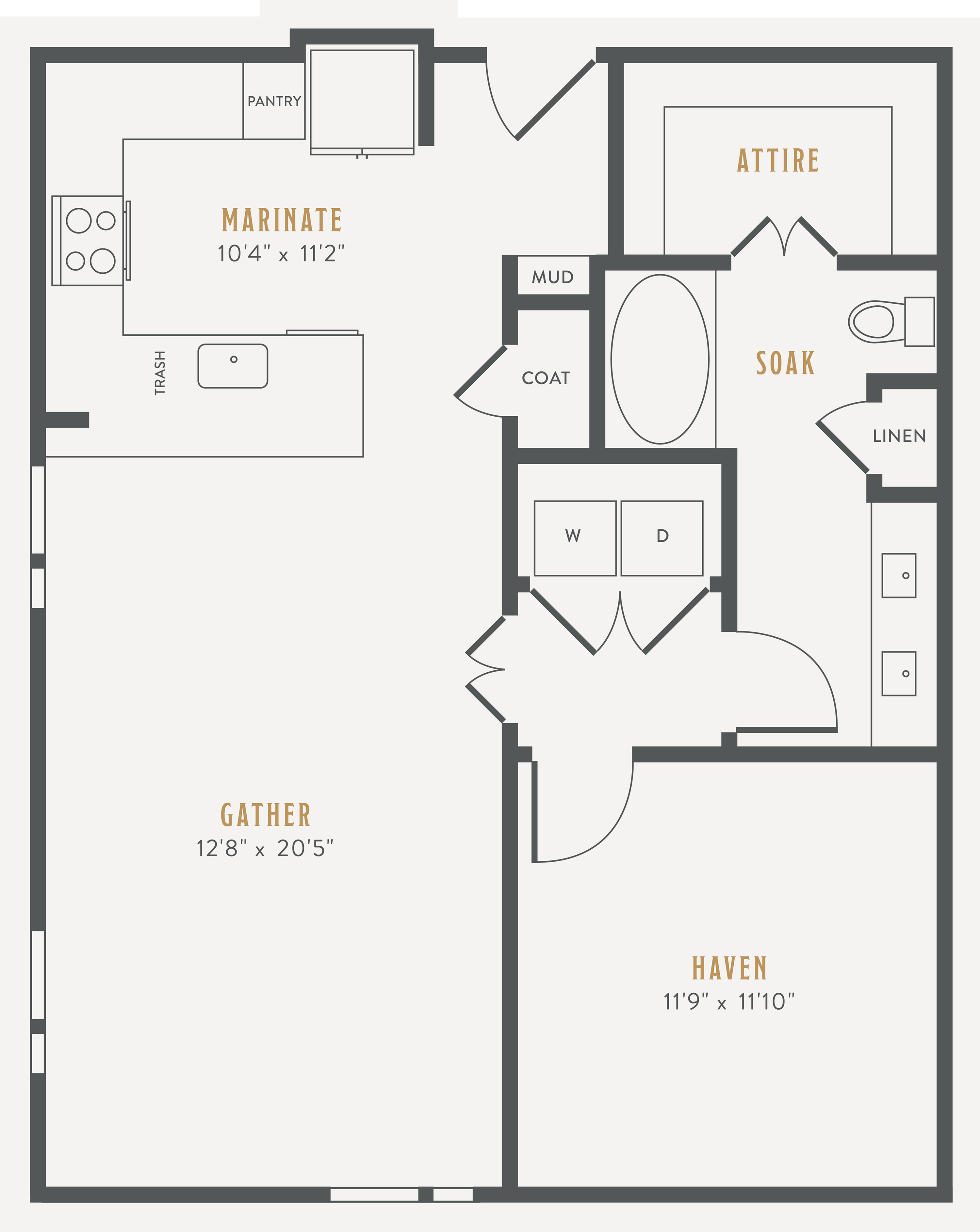 One Bedroom One Bath Kitchen Kitchen Pantry Living Dinning Room Laundry Room One Closet And Patio