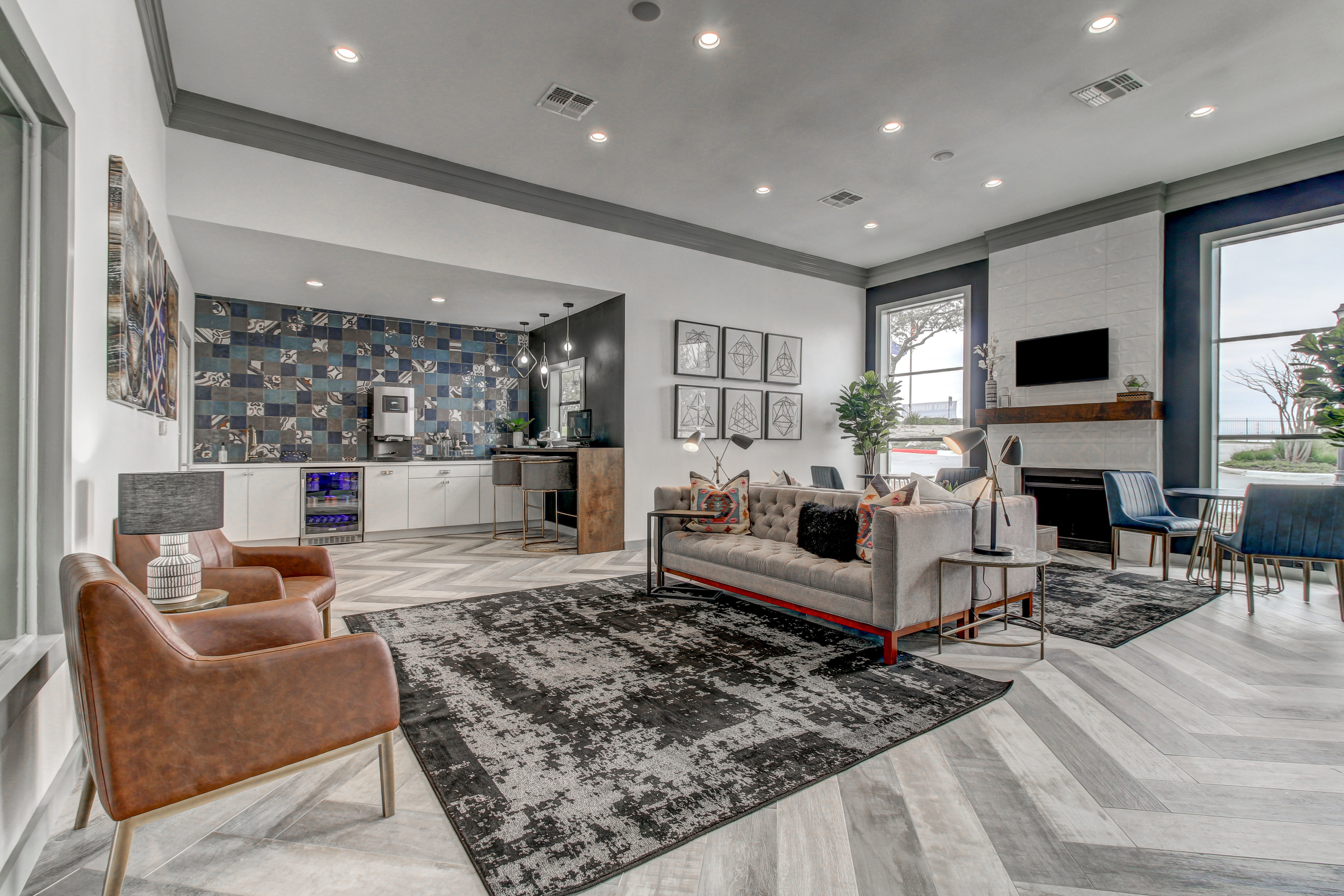 Image of Stunning Hotel Inspired Lobby for NOAH Apartments