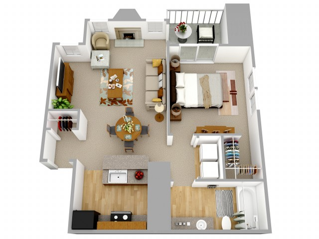 1 Bedroom Apartment Decatur GA