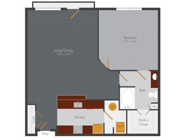 One Bedroom Apartment Decatur
