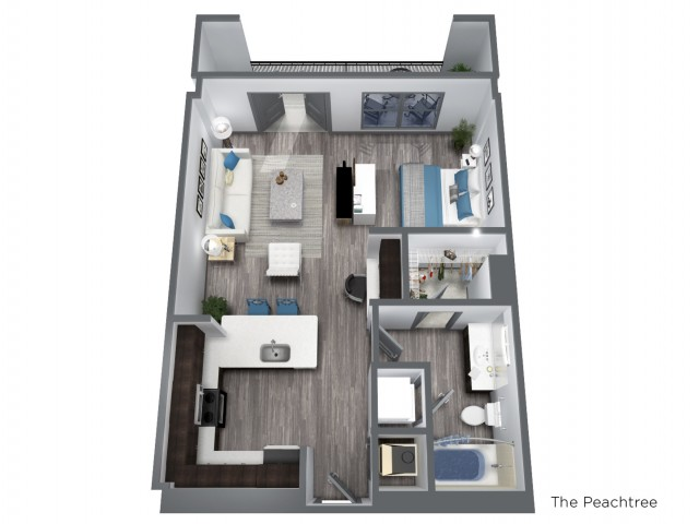 Studio Apartment Buckhead GA