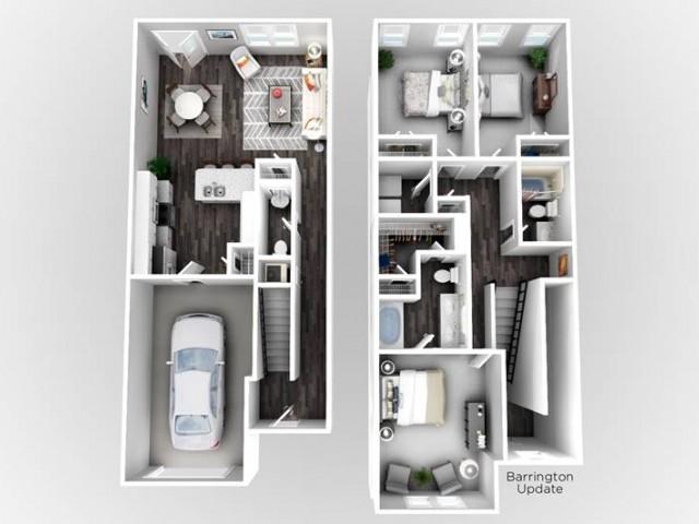 Barrington- 3 Bedroom | 2.5 Bathroom
