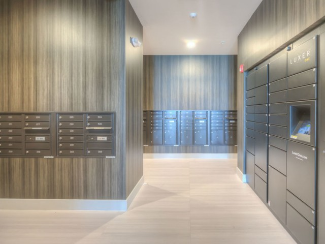 Image of Package Locker System for Easy, 24-Hour Access to Mail and Delivery Packages for Lofts at South Lake