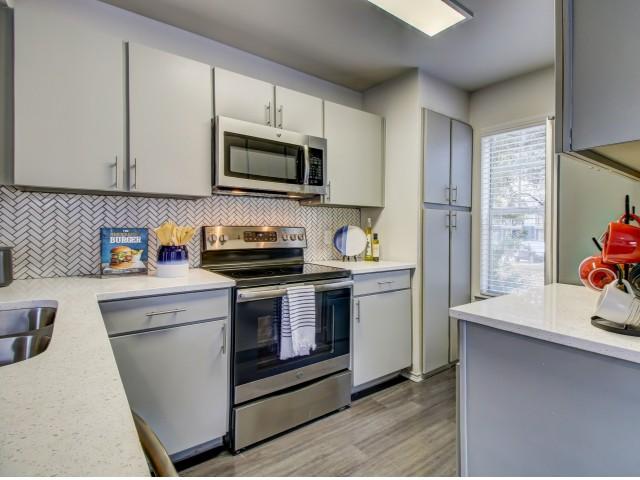 Image of Tile Back Splash for NOAH Apartments