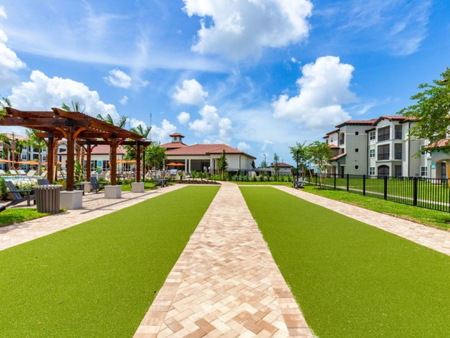 Treviso Grand Apartments - North Venice, Florida  two bocce courts