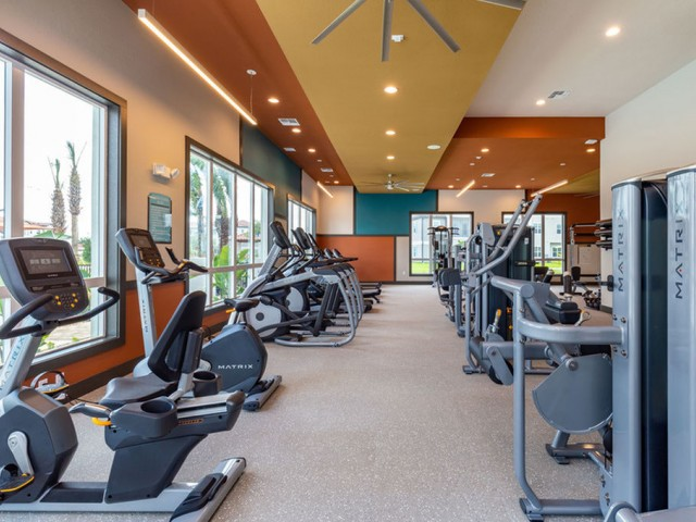 Treviso Grand Apartments - North Venice, Florida fitness center with cardio and strength equipment